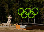 Olympic Rings at Cypress Mountain