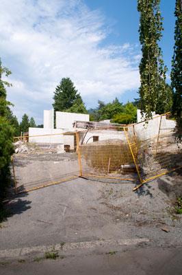 Construction on Gleneagles Drive