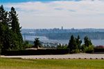 View of Lions Gate from Westhill Park