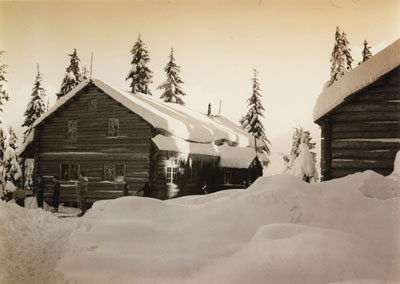 Lodge on Hollyburn Mountatin