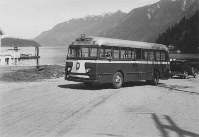 West Vancouver Bus & Driver