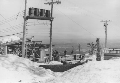 Hollyburn Ski Lift