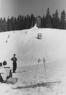 Hollyburn Mountain Ski Jump