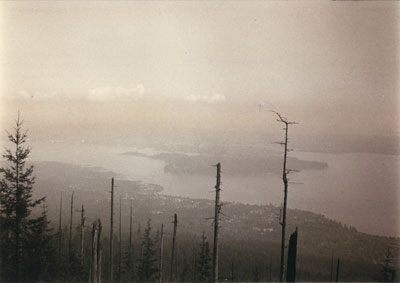 View of First Narrows from Hollyburn Mountain