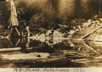 Mill Pond on Hollyburn Mountain