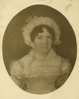 Portrait of Mrs Jere Homfry