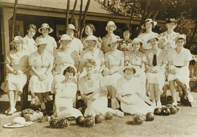 Ladies Lawn Bowling Club