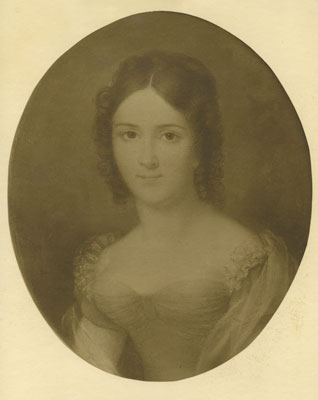 Portrait of Diana Homfry