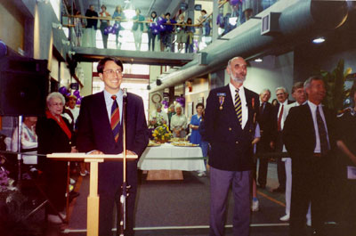 Opening of new WVML East Wing