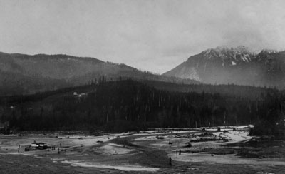 Capilano River & Sentinel Hill from Prospect Point
