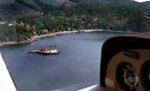 Aerial View of Onion Island & Bowen Island