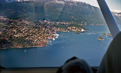 Aerial View of Deep Cove