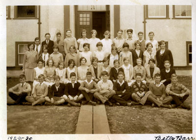 Inglewood School Grade 10 Class Photo (1930)