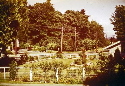 WVML Garden (1950's)