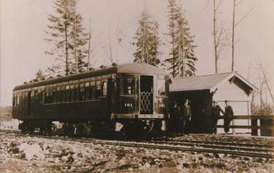 PGE Railway (Postcard)