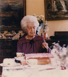 Portrait of Gertie Lawson on her 93rd Birthday