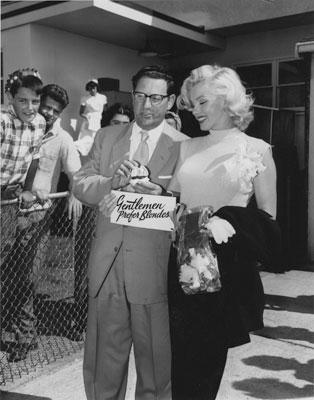 Ivan Ackery & Marilyn Monroe