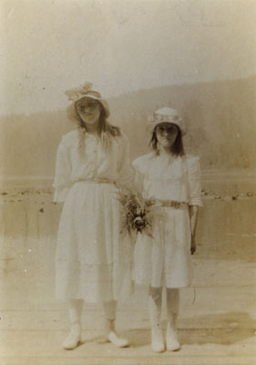 Portrait of Gladys & Mildred Ford
