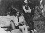 Muriel Johnson & Cecil Nesbitt at Eagle Harbour