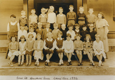 Hollyburn School Grade 2B Class