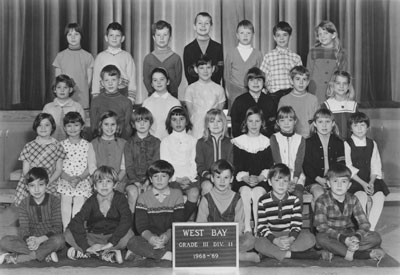 Mrs. Mould's Grade II & III Classes (1968-'69)
