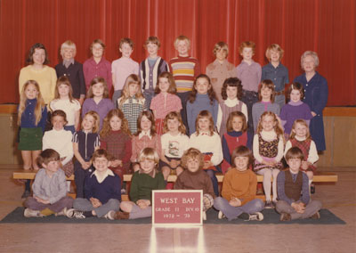 Mrs. Mould's Grade II & III Classes (1972-'73)