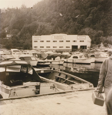 Sewell's Marina and boat storage