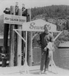 Sun Free Salmon Derby Contestant