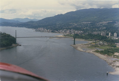 Aerial View of Lions Gate & West Vancouver