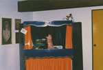 Puppet show in the Children's Department