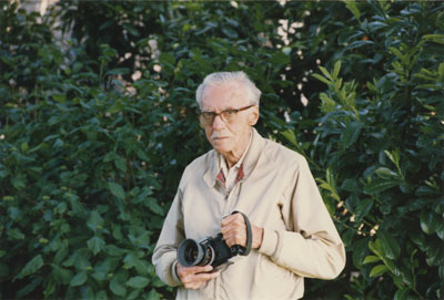 William McPhee, West Vancouver resident and photographer