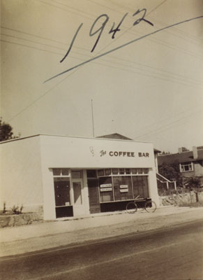 The Coffee Bar in the 1300 block Marine Drive