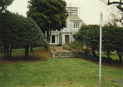 Gertrude Lawson's stone house
