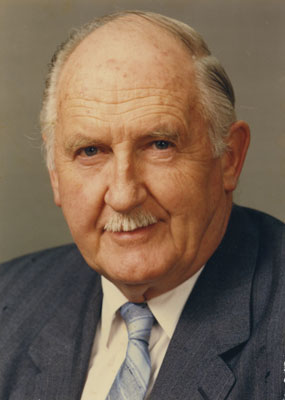 Mayor Donald Lanskail,  Mayor of West Vancouver 1986 - 1990