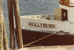 The bow of the Hollyburn Ferry