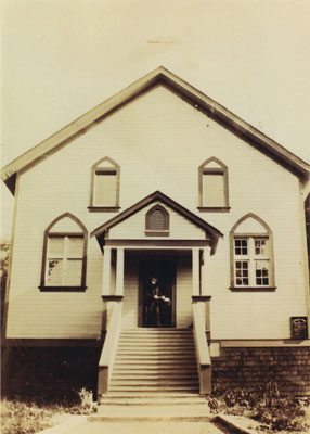 St. Anthony's first church
