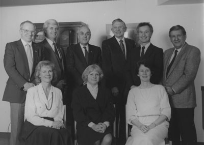 West Vancouver Memorial Library Board Members 1987
