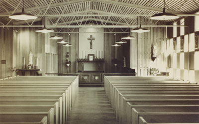 St. Anthony's present church at 2337 Inglewood Avenue