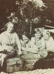 Pioneer women of St. Anthony's Roman Catholic Church: Annie Lambert, Rose Forrest, Mrs. O'Grady and Susie Lloyd
