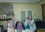 Gertrude Lawson celebrating her 95th birthday