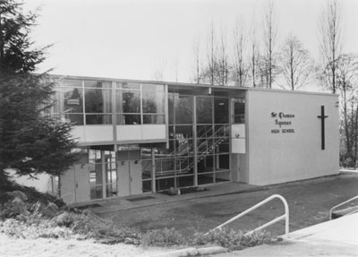 St. Thomas Aquinas High School at 541 Keith Road, North Vancouver