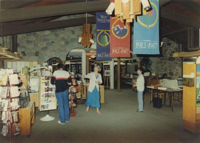 West Vancouver Memorial Library Circulation Area