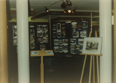 West Vancouver Memorial Library Historical Photo Display