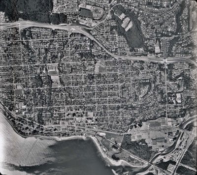 Aerial Photo of West Vancouver (Ambleside)