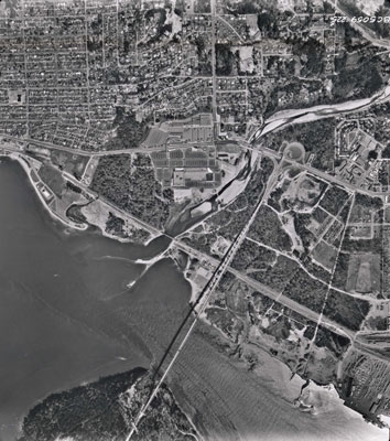 Aerial Photo of West Vancouver (Park Royal)