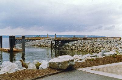 Ambleside Landing Pier