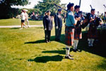 Bagpipers at Canada Day Celebrations