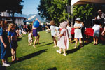 Children at Canada Day Celebrations