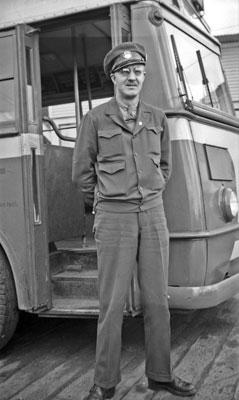 Bus Driver ID Photo
