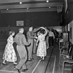 Square Dancing at Inglewood School